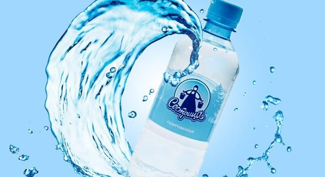 Вода питьевая Сестрица газированная