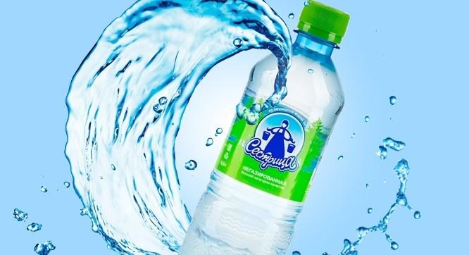 Вода питьевая Сестрица негазированная